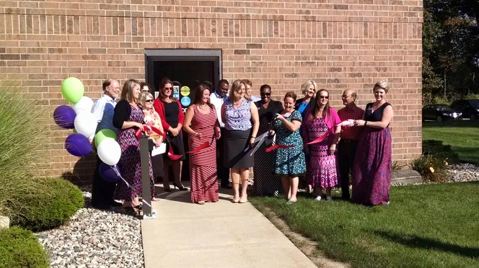 The Nonprofit Network recently celebrated with a ribbon cutting at their new location on the campus of Baker College in Jackson.