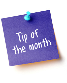 tip of the month 3