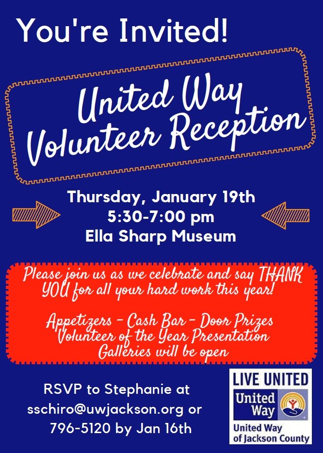 Volunteer Reception @ Ella Sharp Museum | Jackson | Michigan | United States