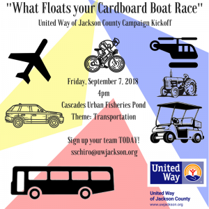 2018 What Floats Your Cardboard Boat? Race! @ Cascades Urban Fishery Pond | Jackson | Michigan | United States