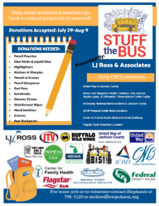 Stuff The Bus @ United Way of Jackson County