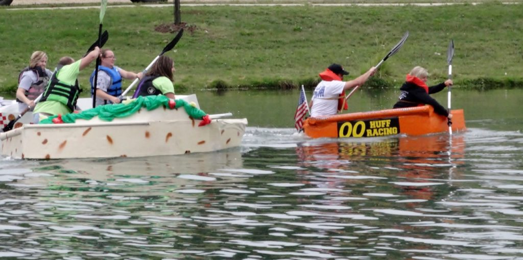 Cardboard Boats Hit the Waves to Kick Off UWJC Campaign